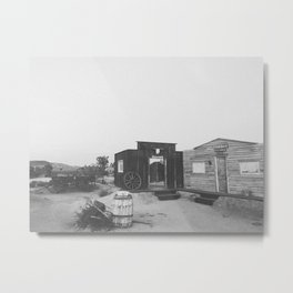 PIONEERTOWN Metal Print
