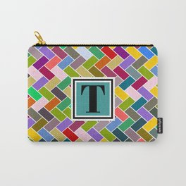 T Monogram Carry-All Pouch