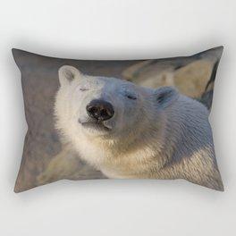 Blind to the Dying Sun Rectangular Pillow
