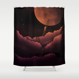 Stairway To The Moon Shower Curtain