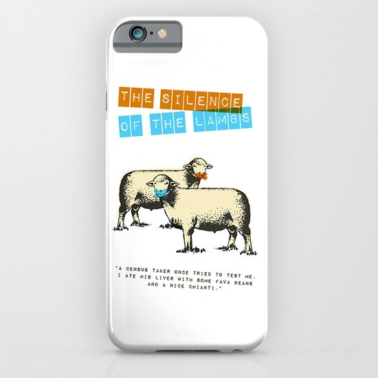 The silence of the lambs iPhone & iPod Case