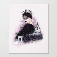 fairytale Canvas Prints featuring Fairytale by Alendro