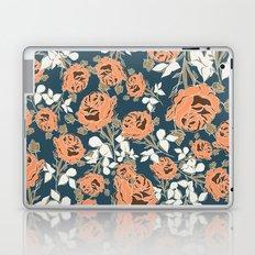 Black Rose Minimalist Pattern Laptop & iPad Skin