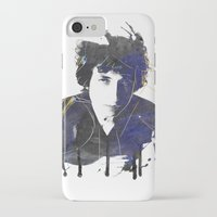bob dylan iPhone & iPod Cases featuring bob dylan by manish mansinh