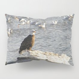 Eagle on Ice Pillow Sham