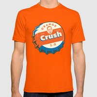 Denver's Orange Crush Defense TWO POINT OH! Mens Fitted Tee LARGE Orange