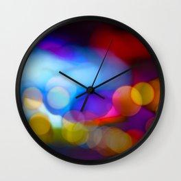 squint Wall Clock