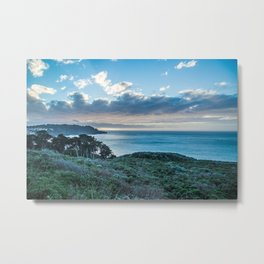 Pacific Cost Hwy Sunset Metal Print