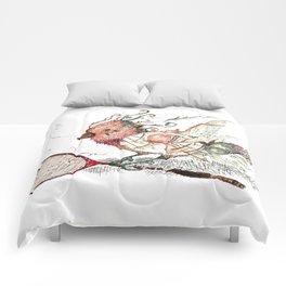 The Wild Badminton Birdie Comforters