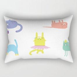 Playful Cats Rectangular Pillow
