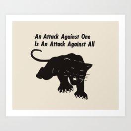 ATTACK Art Print