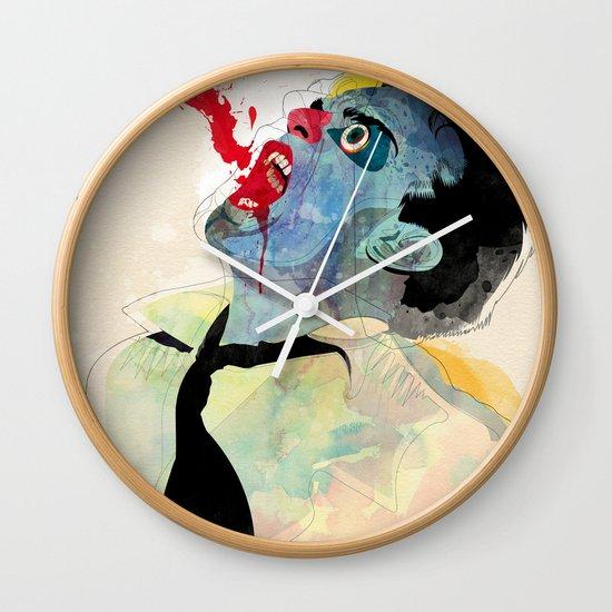 fountain v2 Wall Clock