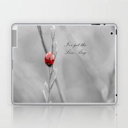 black and white lady bug Laptop & iPad Skin
