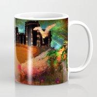 urban Mugs featuring Urban by Shereen Yap