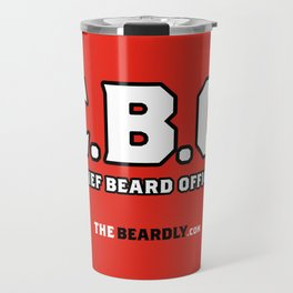 CHEIF BEARD OFFICER  Travel Mug