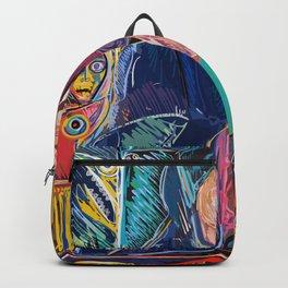 Bellini Street Art Graffiti Remix Backpack