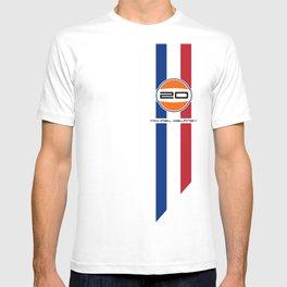 MICHAEL DELANEY  aka Steve McQueen - LeMans Livery T-shirt