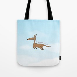Finally Allowed to Fly Tote Bag