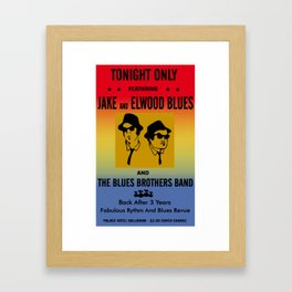 Mission From God Blues Brothers Framed Art Print
