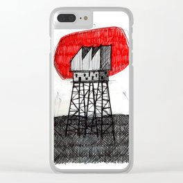 Imaginary architectures #26 Clear iPhone Case