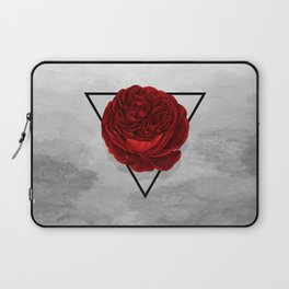 The Rose (white version) Laptop Sleeve