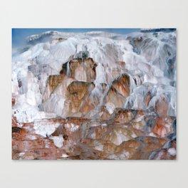 Mammoth Hot Springs Yellowstone Canvas Print