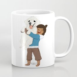 Best Friends | Korra and Naga Coffee Mug