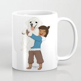 Best Friends | Korra and Naga Coffee Mug
