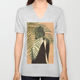 Resting in a Shade Unisex V-Neck