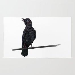 Verklempt Crow Rug