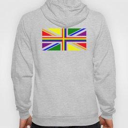 UK Gay Pride Union Jack Flag Hoody