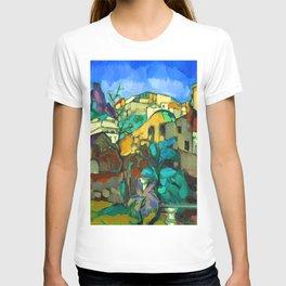 Konrad Magi Capri Landscape T-shirt