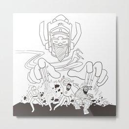 Fantastic Beards Metal Print