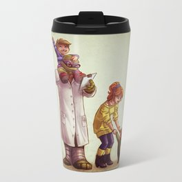 Apritello- Donatello and April Metal Travel Mug