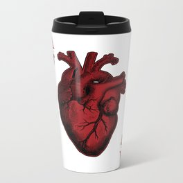 Ace of Hearts Metal Travel Mug