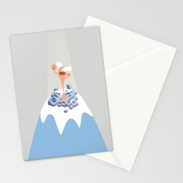 montain mouth Stationery Cards