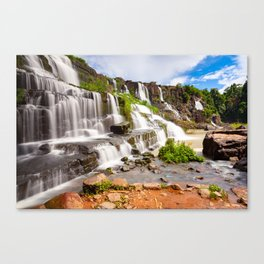 Pongour waterfall, Dalat, Vietnam Canvas Print