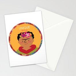 Unique like Frida Kahlo Stationery Cards