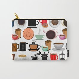 Coffee Mugs, Cups and Makers Carry-All Pouch