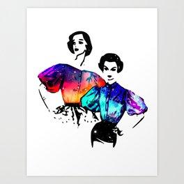 Starlites Art Print