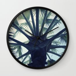 Tropical Tranquillity Wall Clock