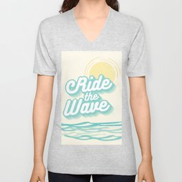 Ride the Wave Unisex V-Neck