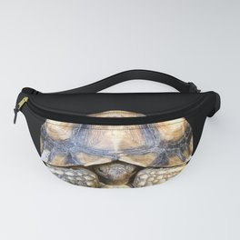 Sulcata Tortoise with Reflection Fanny Pack