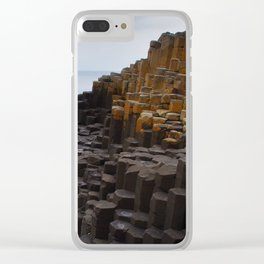 Giant's causeway Clear iPhone Case