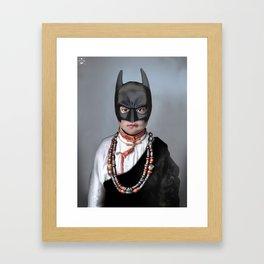 Das dunkle Ritterchen Framed Art Print