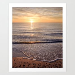 Solitude at Sunset Art Print