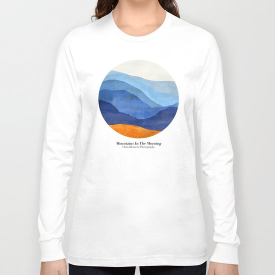 Mountains in the Morning Long Sleeve T-shirt