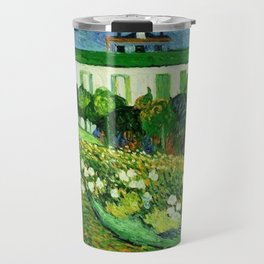 Daubigny's Garden by Vincent Van Gogh Travel Mug
