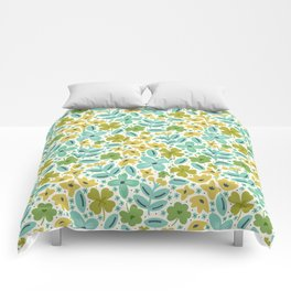 Clover & Floral Field Comforters
