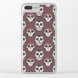 Till Death Do Us Part? (Patterns Please) Clear iPhone Case